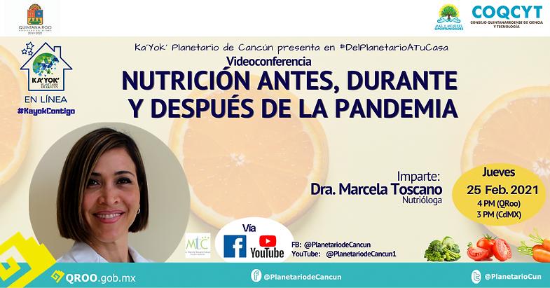 Nutrición en Pandemia 25Feb2021 Marcela