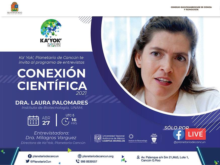 Conexión Científica Laura Palomares 27Ab