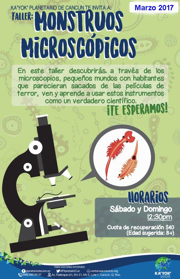 Monstruos Microscópicos