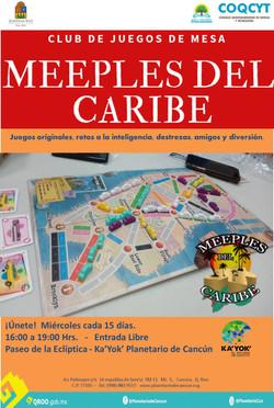 Meeples del Caribe - Juegos Mesa