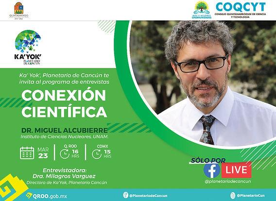 Conexión Científica1 23Mzo2021 (Alcubier