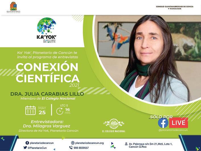 Conexión Científica Julia Carabias COLNA
