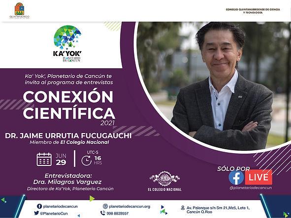 Conexión Científica Jaime Urrutia 29Jun2