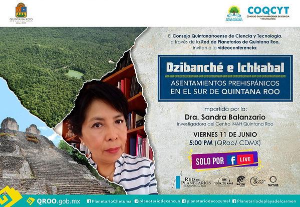Dzibanché- Ichkabal 11jun2021 Sandra Bal