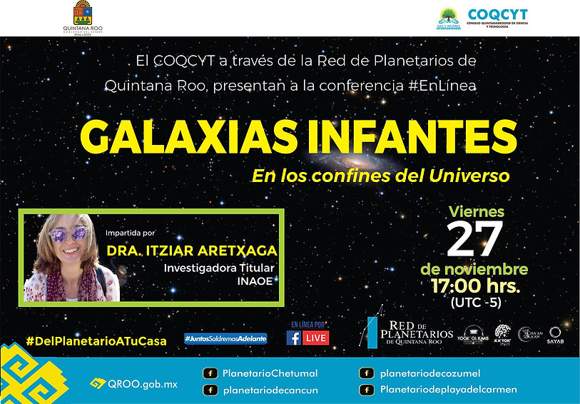 Galaxias Infantes Confines Universo Itzi
