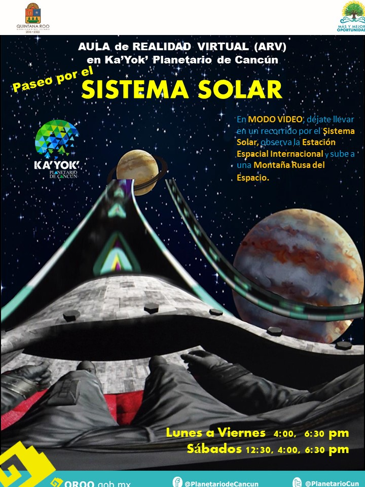 ARV Sistema Solar (Video)