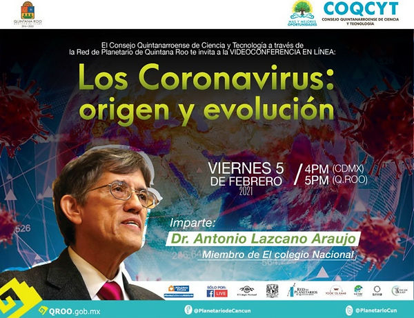 Los Coronavirus origen y evolución Lazca