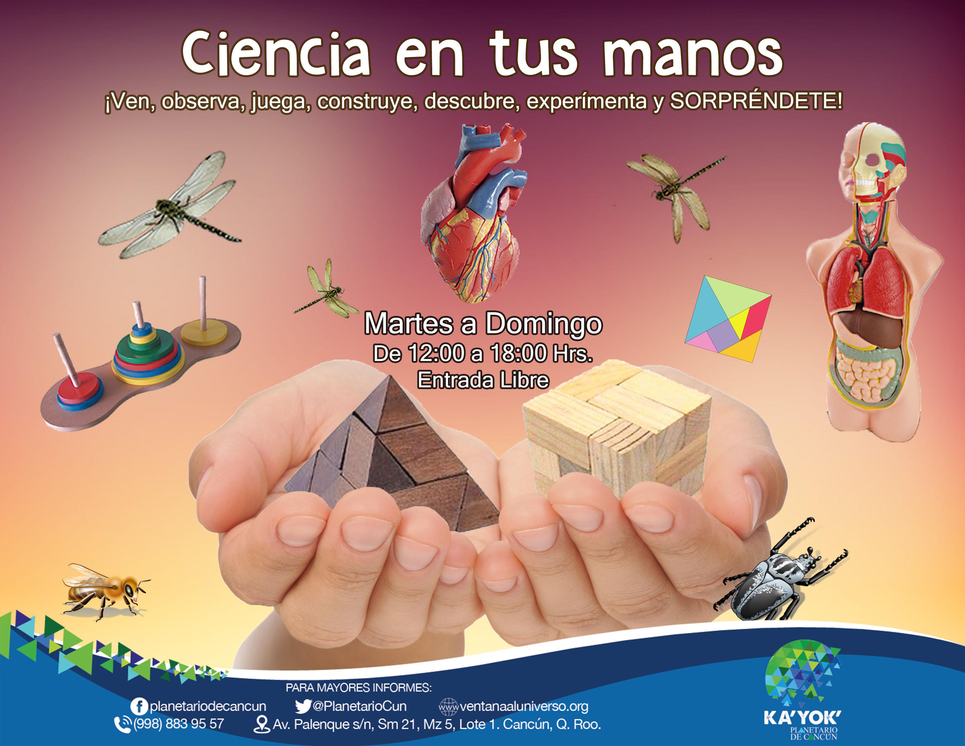 Ciencia en tus manos