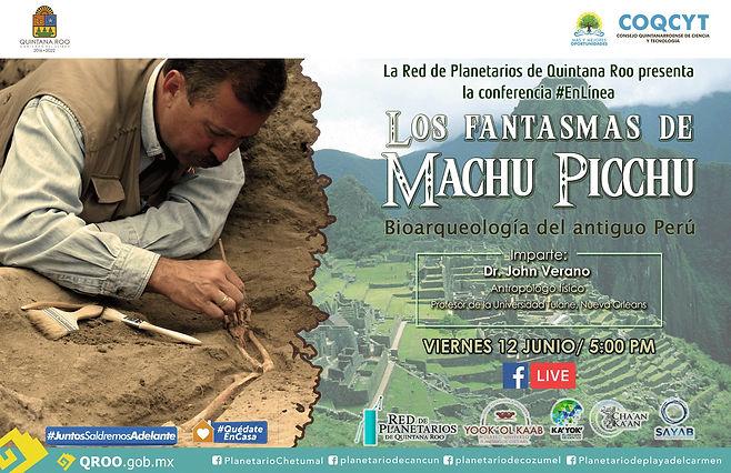 Los fantasmas de Machu Picchu John Veran