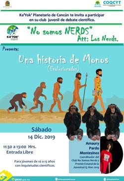 NERDS Historia de Monos 14Dic2019