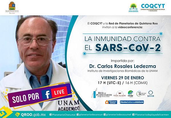 Inmunidad Vs SARSCov2 Carlos Rosales Led