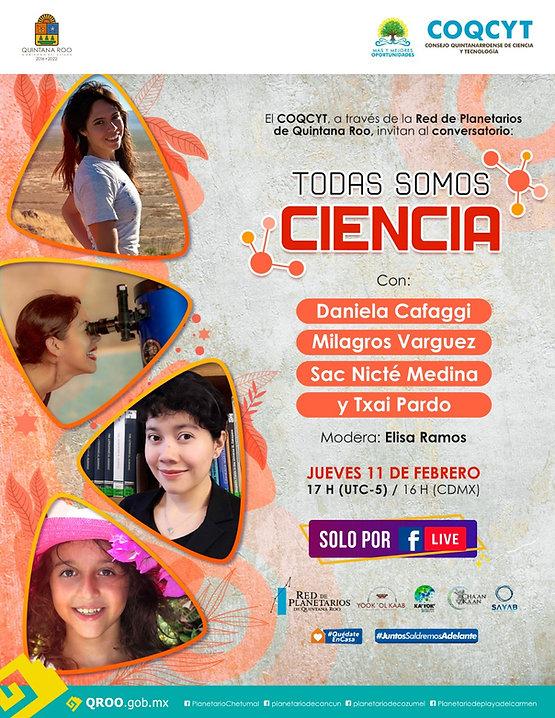 Todas somos CIENCIA 11Feb2021 Conversa R