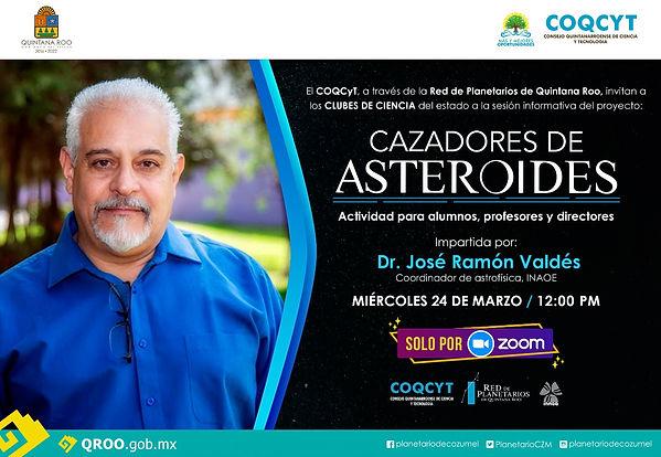 ASTEROIDES Cazadores José Ramón Valdés 2