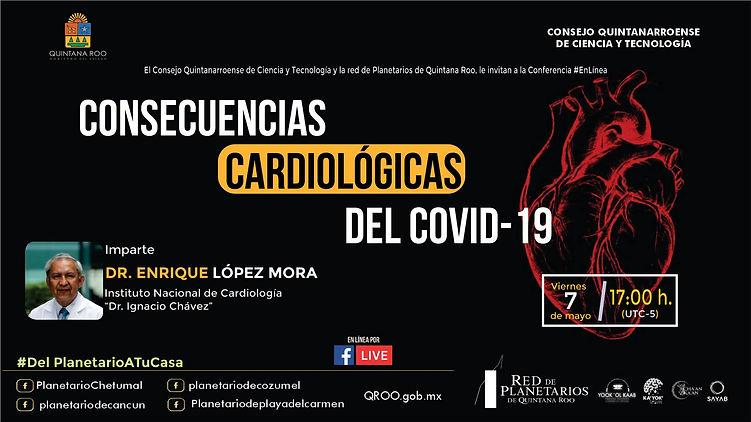 Consecuencias cardiológicas Covid Dr Enr