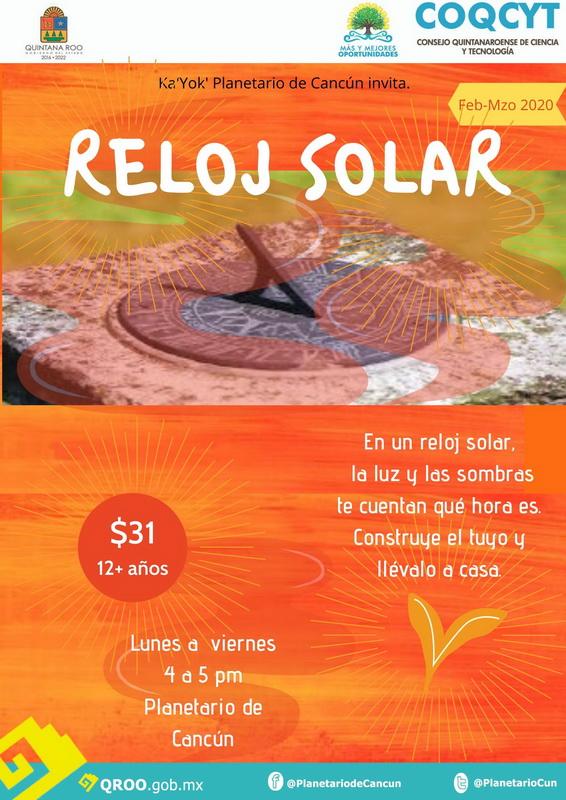 Taller: Reloj Solar