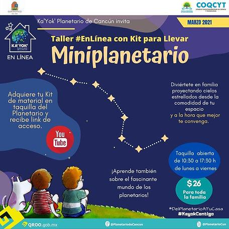 Miniplanetario Marzo 2021 DPATC (KitpLle