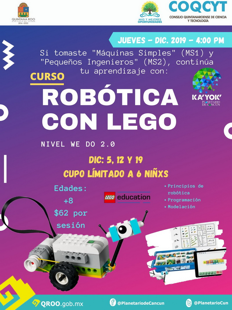 Robótica con Legos (We Do)