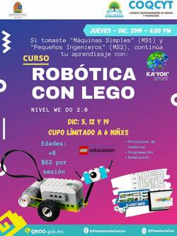 Robótica con Legos (We Do)