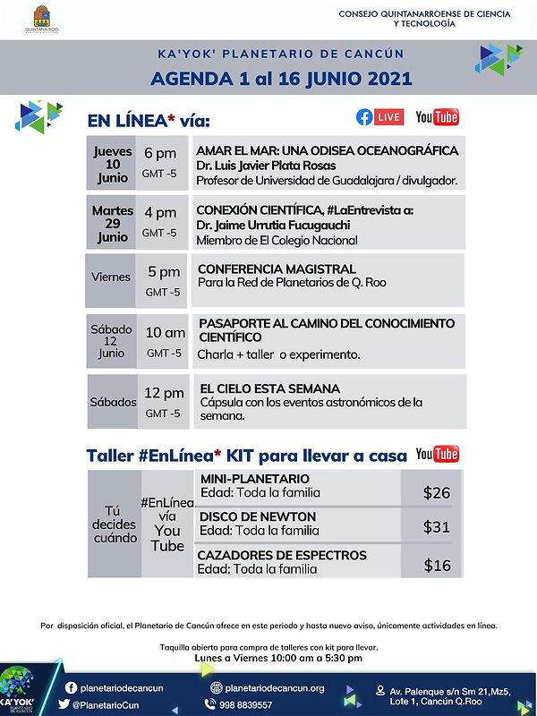AGENDA Kayok EnLínea 1-16 Jun 2021 OK.jp