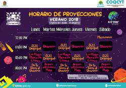 Cartelera Domo Digital Verano 2018