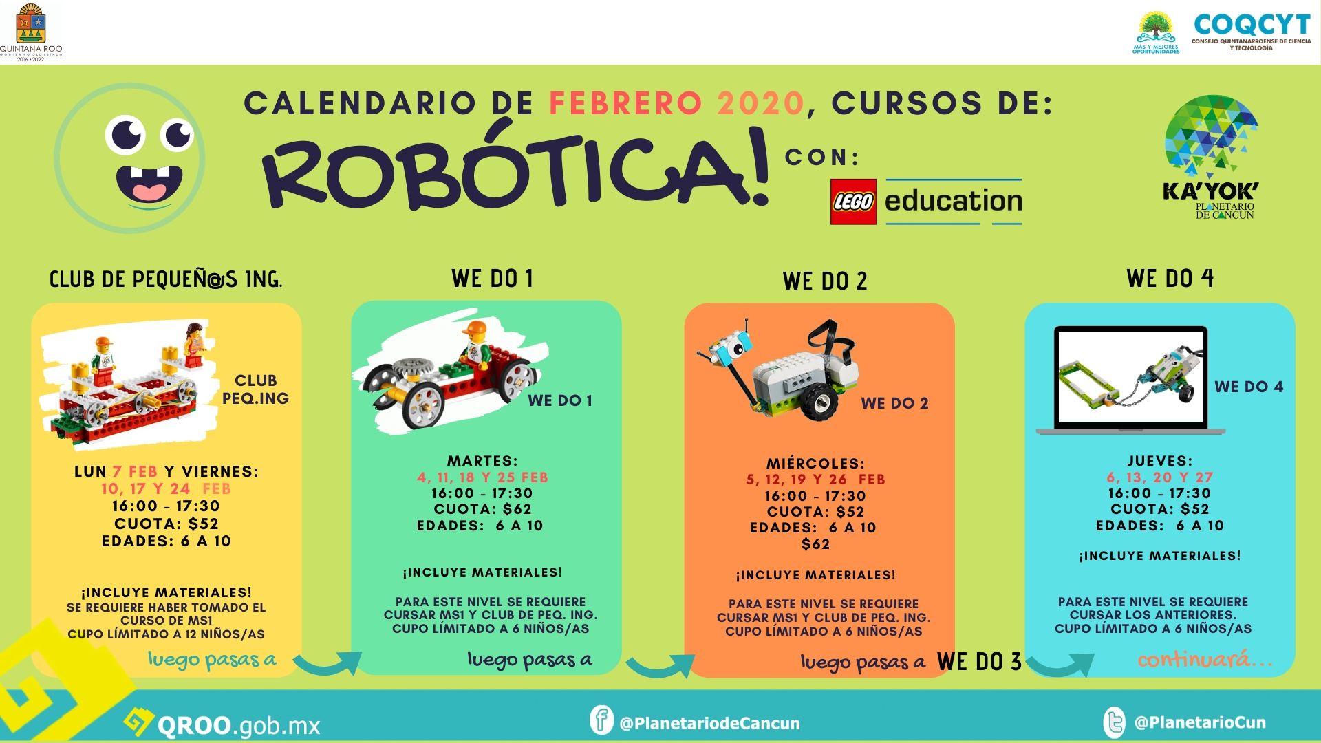 Robótica Ka'Yok' con Legos