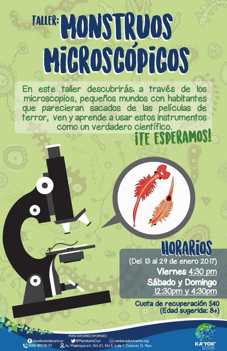 Monstruos Microscopicos