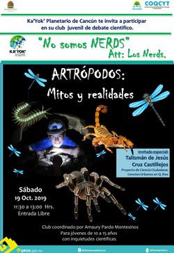 NERDS: Artrópodos,Mitos y Realidades