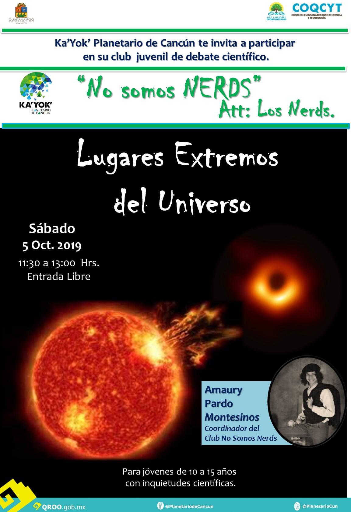 NERDS Lugares Extremos del Universo