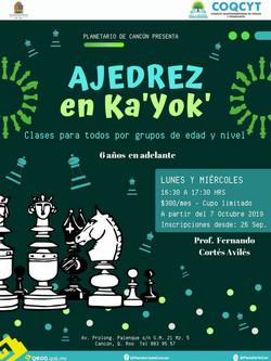 Clases de Ajedrez en Ka'Yok'