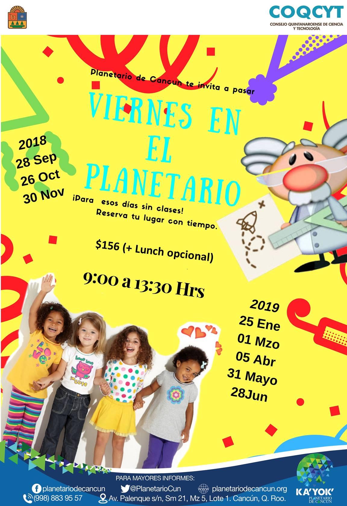 Viernes Planetario (2018- 2019)