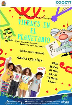 Viernes de Planetario
