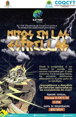 Mitos en las Estrellas (ShowDomo) 11 Oct