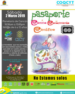 Pasaporte a la Ciencia 2 Marzo 2019)