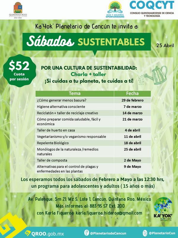 Sábados Sustentables (Feb a Mayo)