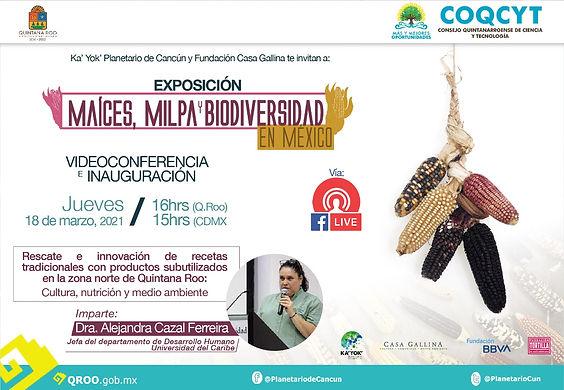 Maices milpa y biodiversidad en México E