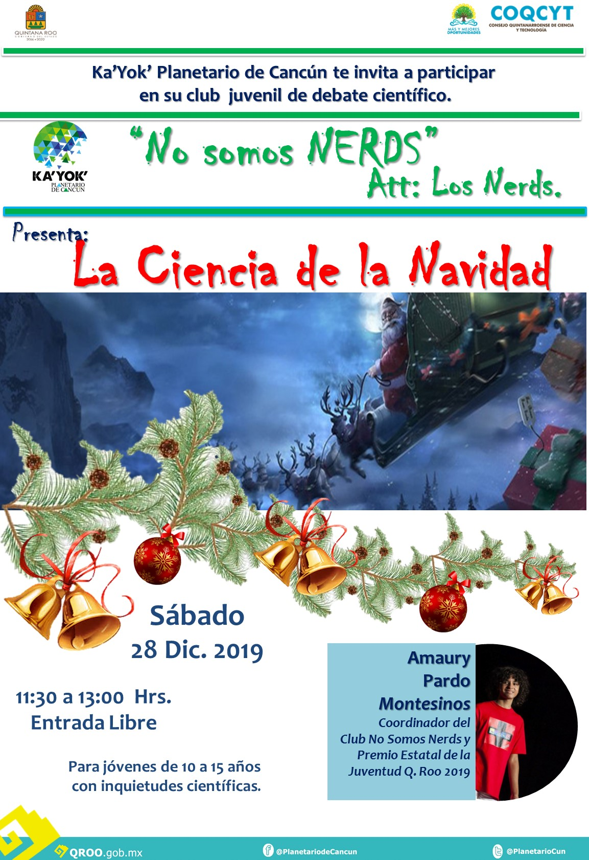 Nerds La Ciencia de la Navidad 28Dic2019