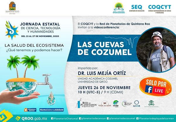 JECTyH Cuevas Cozumel Luis Mejía 26 Nov
