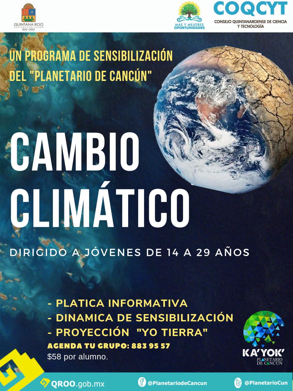 Visita guida: Cambio Climático