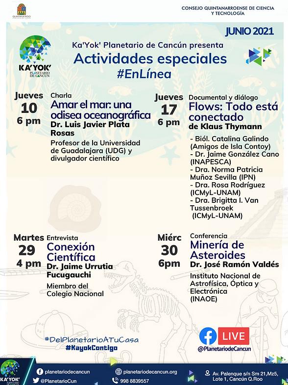 Especiales Junio2021 Ka'Yok' #EnLínea.pn