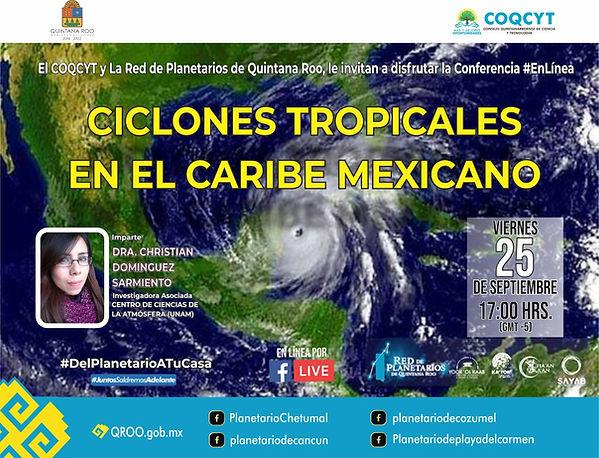 Ciclones Tropicales Chetumal 25 Sep 2020