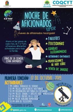 Noche de Aficionados Ka'Yok' (17 Oct 201