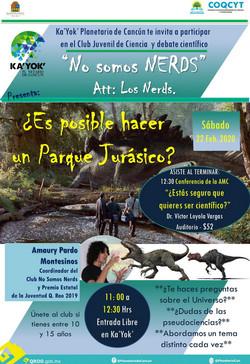 NERDS Parque Jurásico 22Feb2020