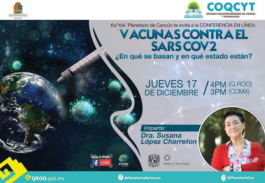 Vacunas contra el SARS COV2  Susana Lópe