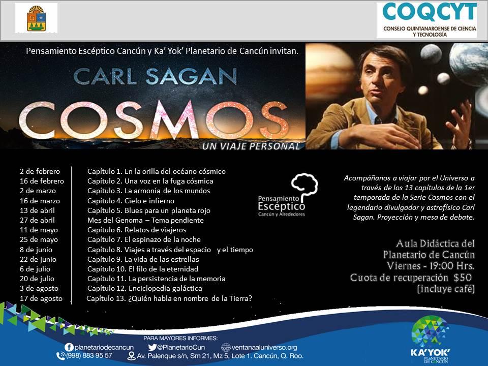 Serie COSMOS con Carl Sagan (1980)