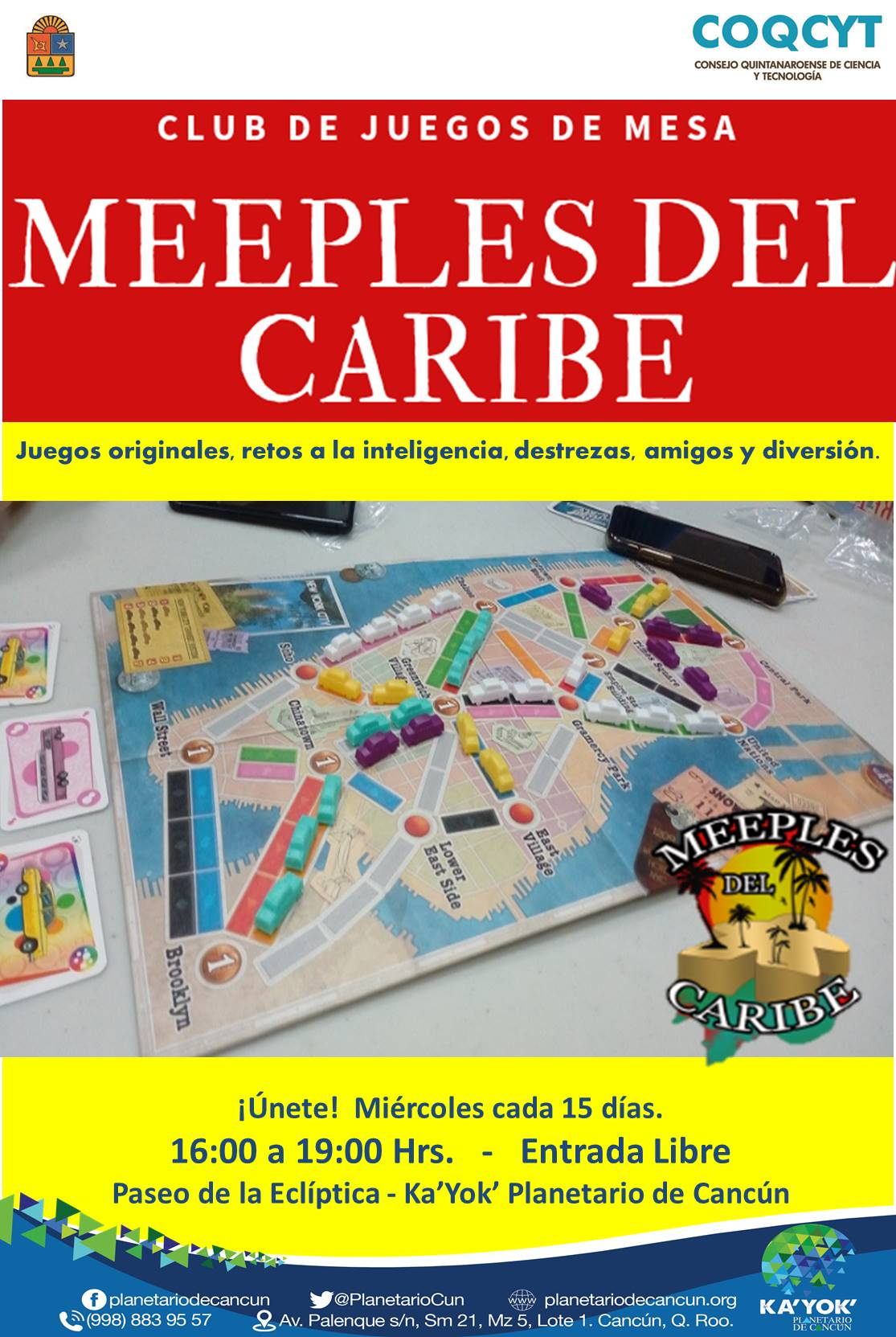 Meeples del Caribe ( Juegos Mesa)