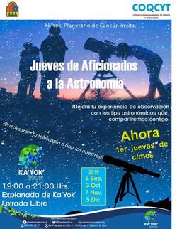 Aficionados a la Astronomía