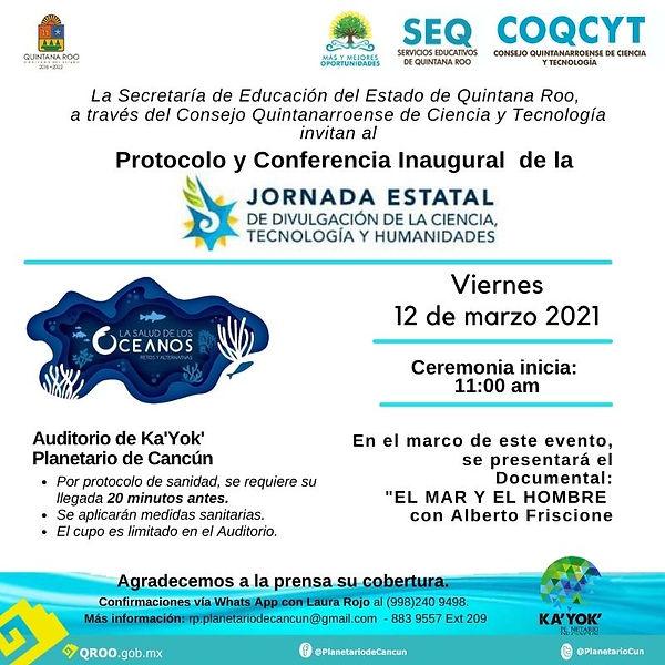 Invitación Jornada Estatal CTyH 12Mzo202