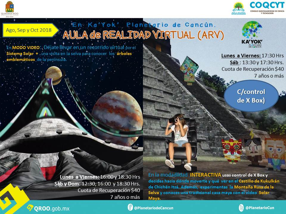 Aula Realidad Virtual (Ago Oct)