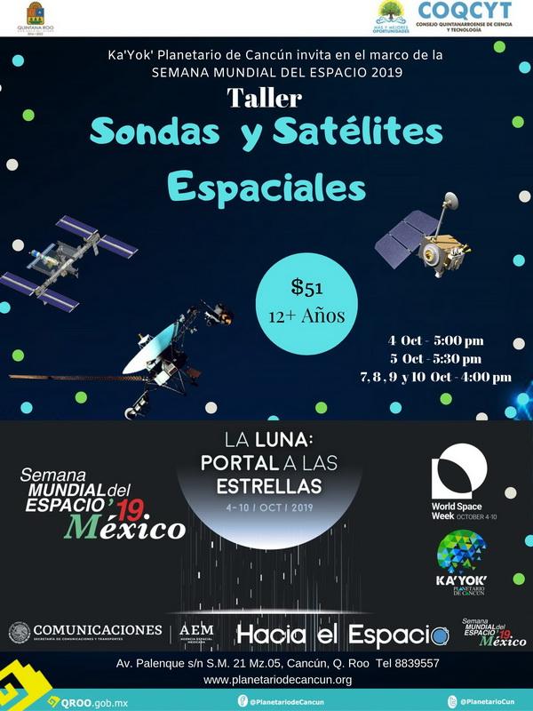Taller: Sondas y Satélites (SME2019)