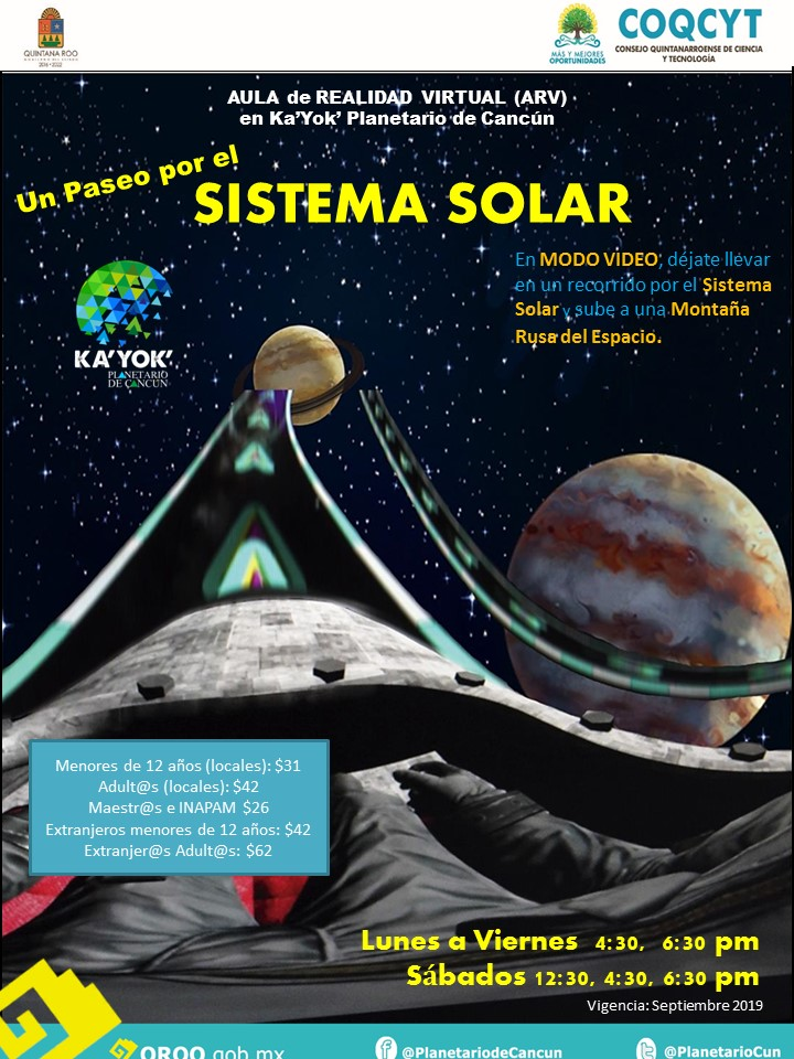 Realidad Virtual: Sistema Solar